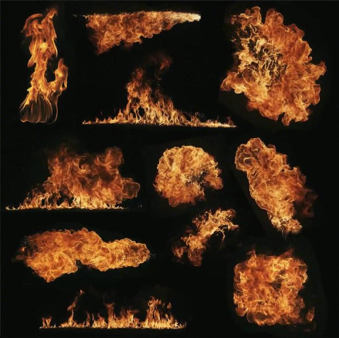 PS基础教程!教你制作燃烧的火焰文字效果