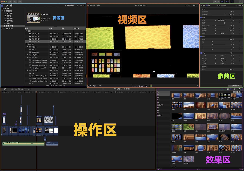 17分钟上手剪辑!Final Cut Pro X 讲解+实战教程
