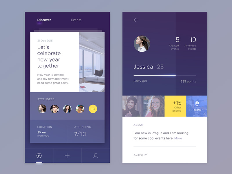 12个用户中心设计!让信息展示更有个性