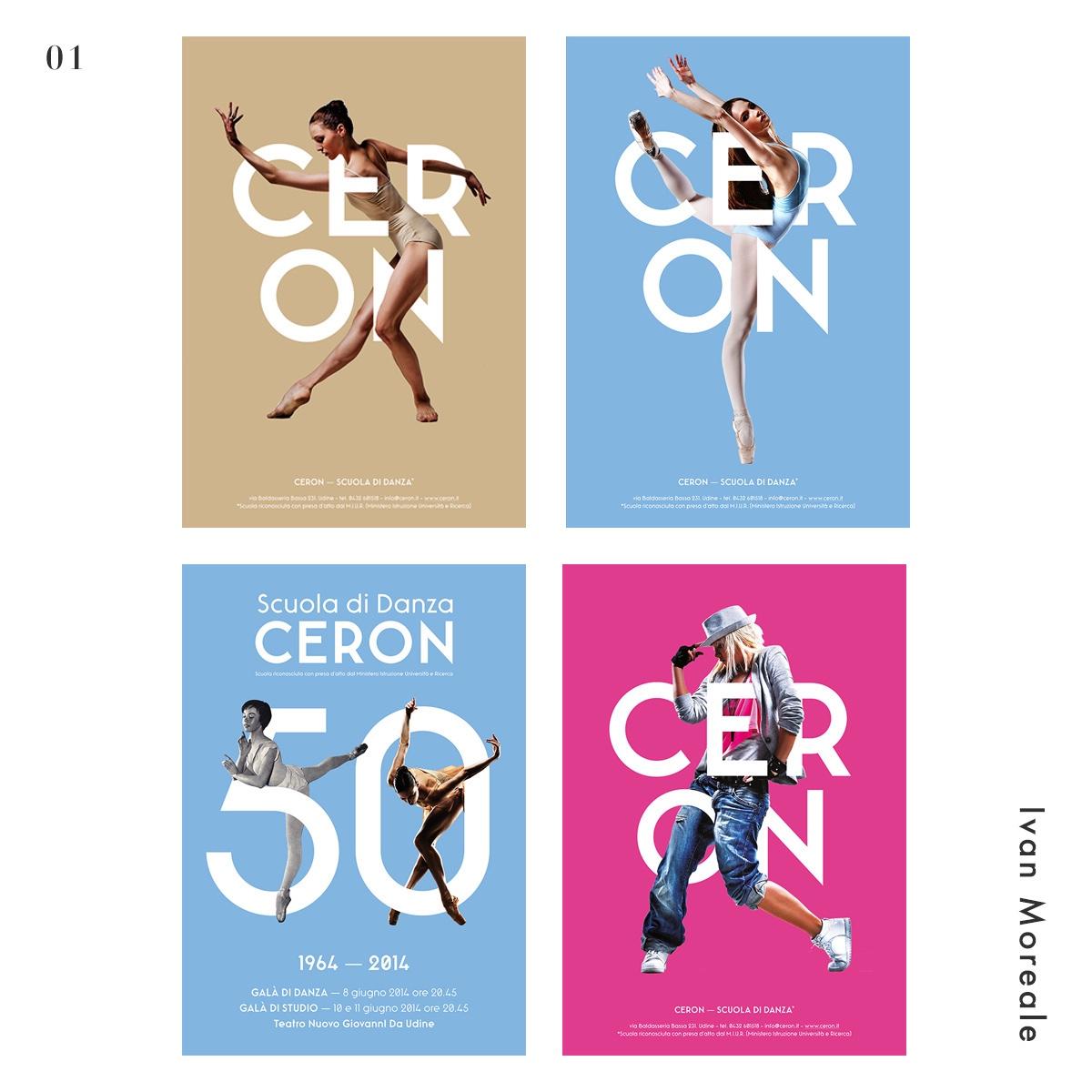 舞蹈在海报中的几十种运用方式