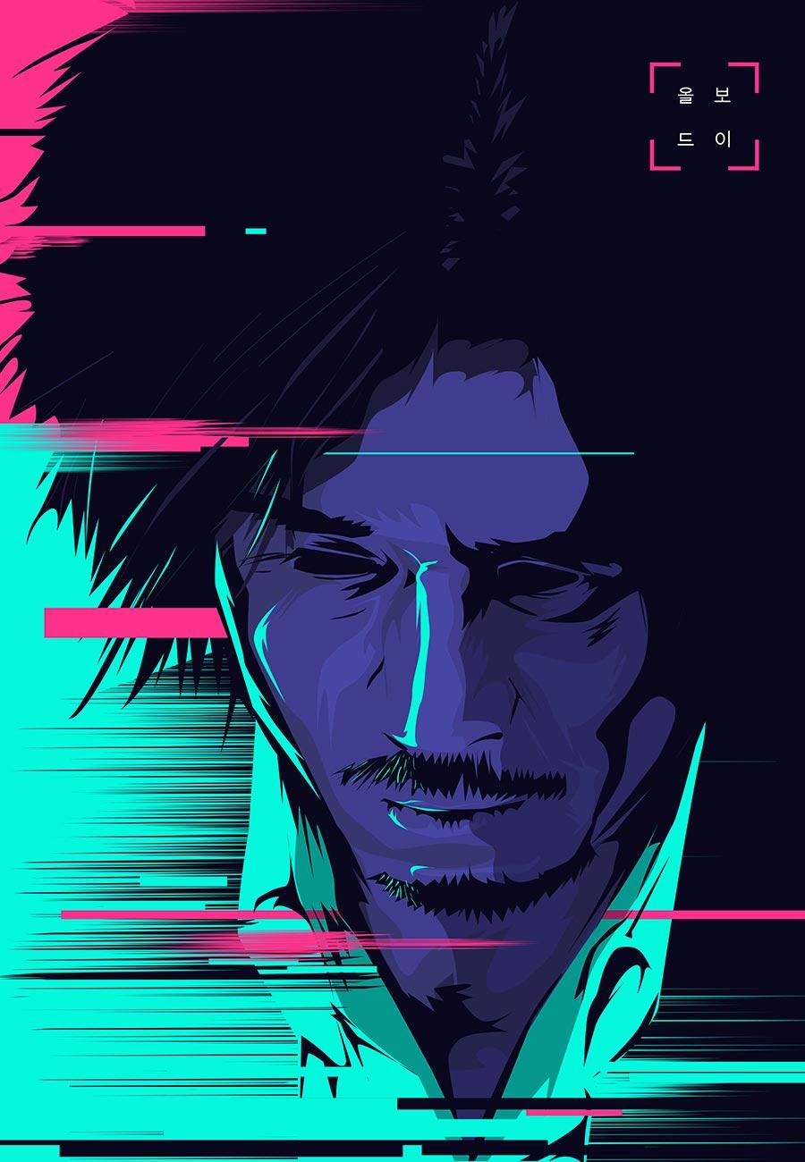 鲜艳夺目!16个插画风格电影海报设计