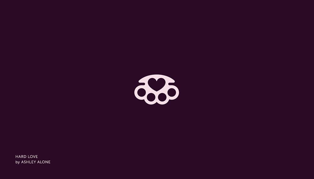秀恩爱!20款LOVE元素Logo设计