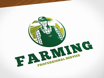 汗滴禾下土!20款农场元素Logo设计