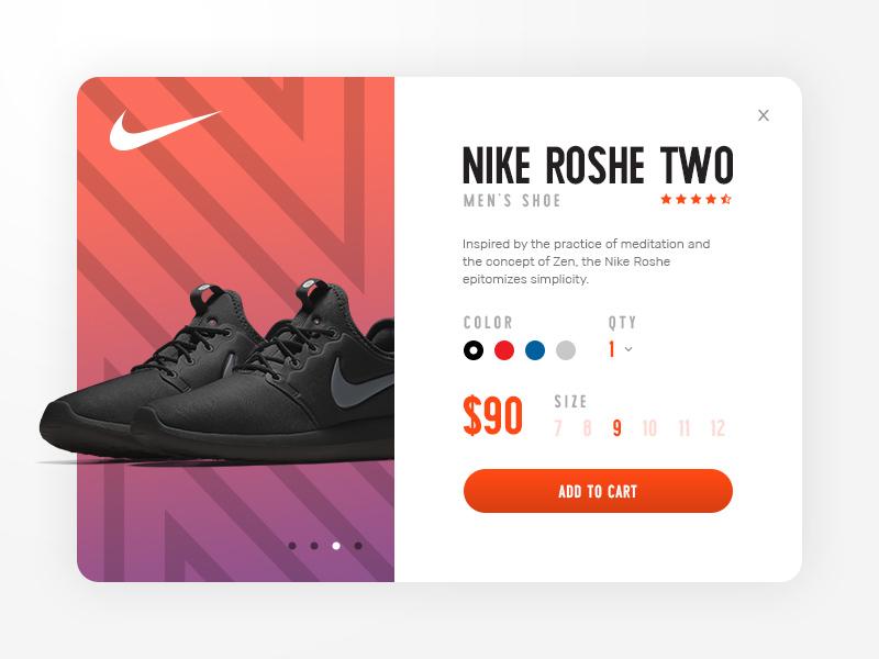 让人忍不住剁手的12组运动鞋选购界面