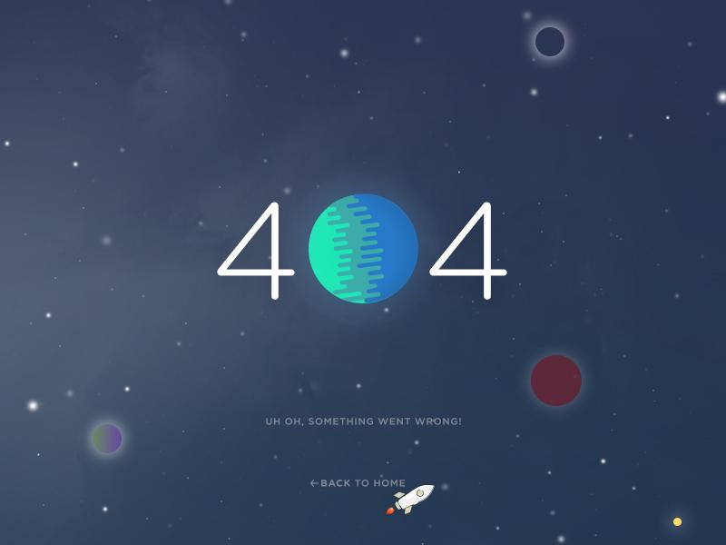 拯救无法访问!12个妙趣横生的404设计页面