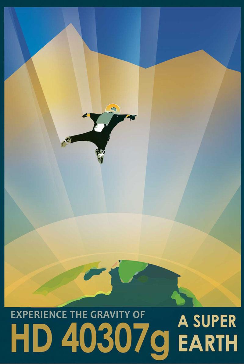 未来景象!14个NASA插画海报欣赏