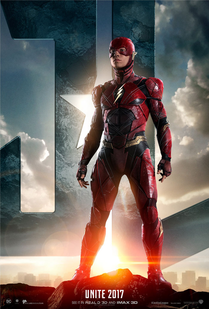 《正义联盟 Justice League》正式版+角色海报