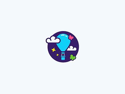 五颜六色!20款气球元素Logo设计