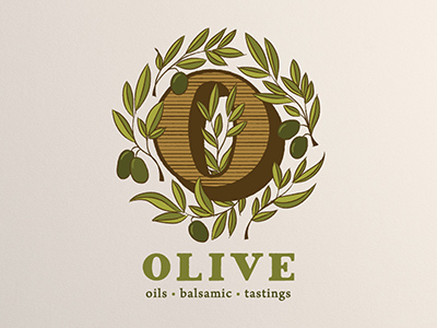 和平象征!20款橄榄元素Logo设计