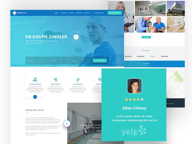 医疗健康机构教你用网页体现亲切感!