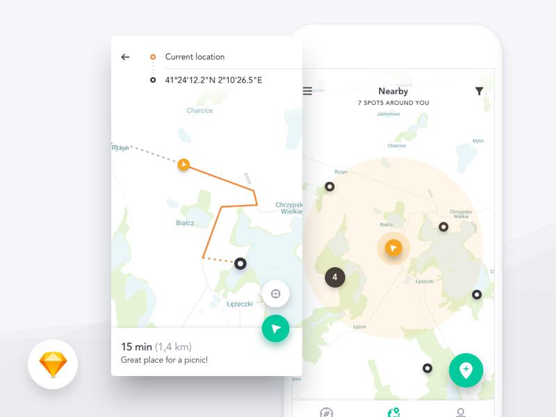 地图页面怎么样才能更直观地实现导航