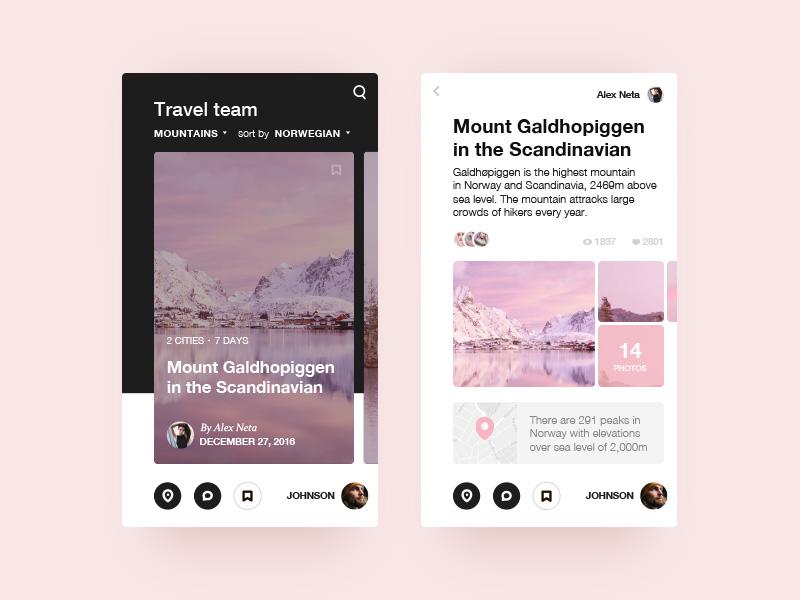 移动端的旅行类产品应该如何展示?