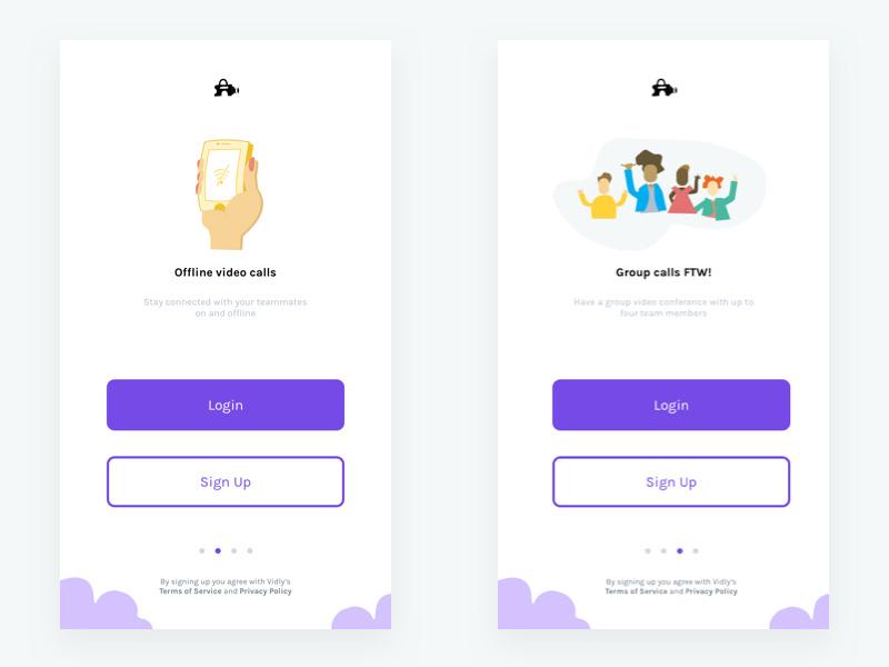 一步到位!12个简洁直观的登录注册页设计灵感