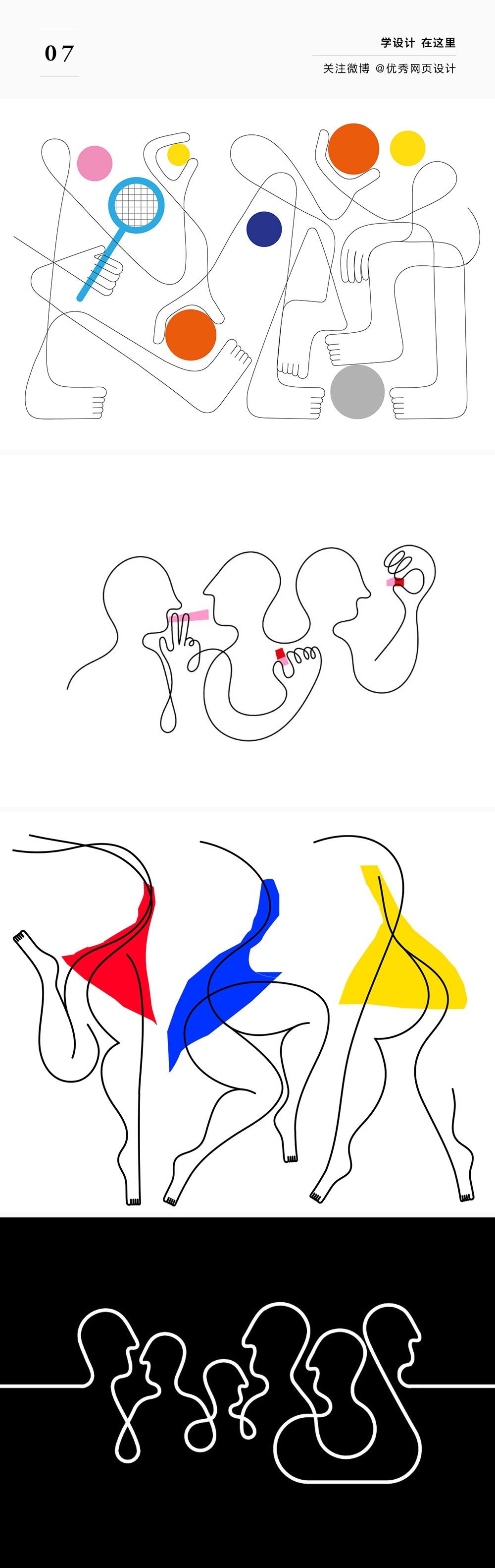 画几条线也能成为艺术?