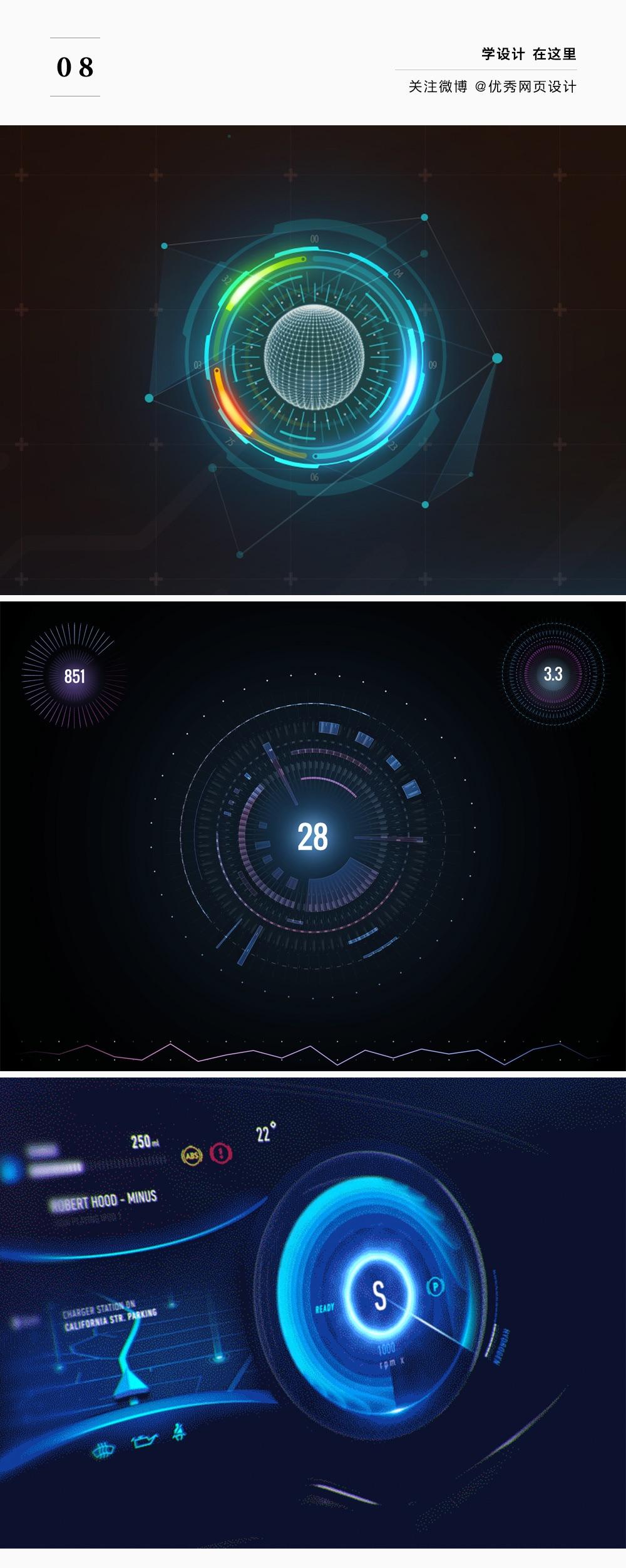 如何让你的UI充满科技未来感?