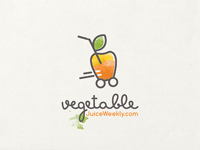 新鲜大自然!20款蔬菜元素Logo设计