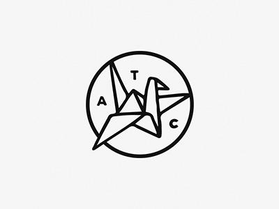 仙风道骨!20款鹤元素Logo设计