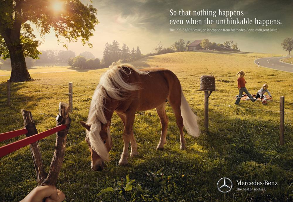 心所向,驰以恒!20张奔驰品牌宣传海报设计