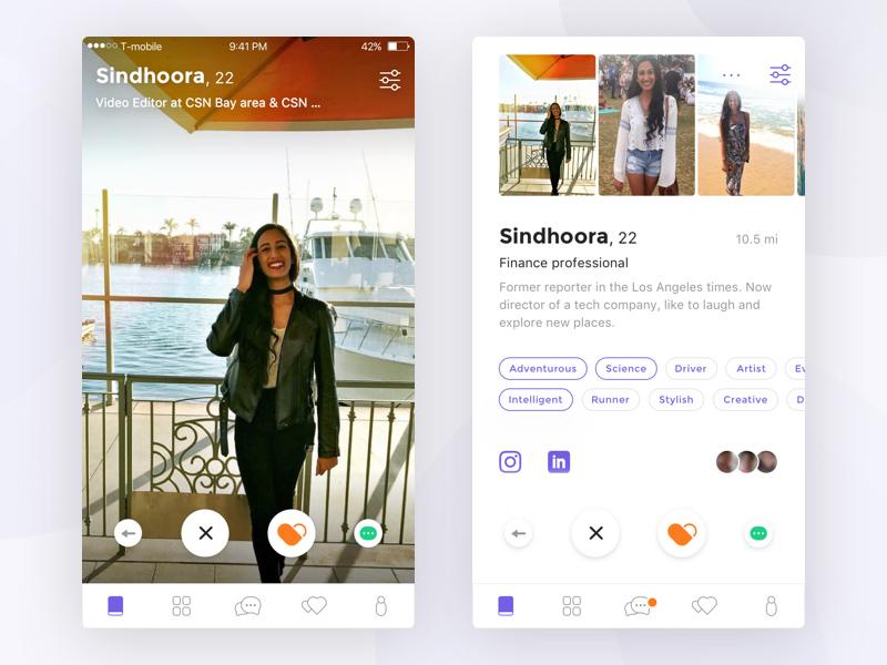 相见恨晚!这12款约会App教你设计更有吸引力的页面