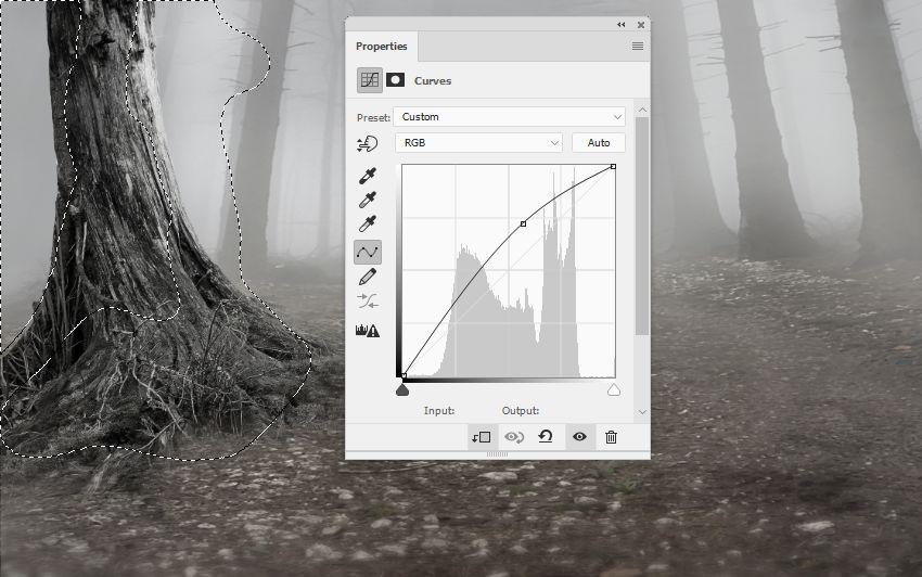 PS教程!教你合成神秘森林场景 (含素材)