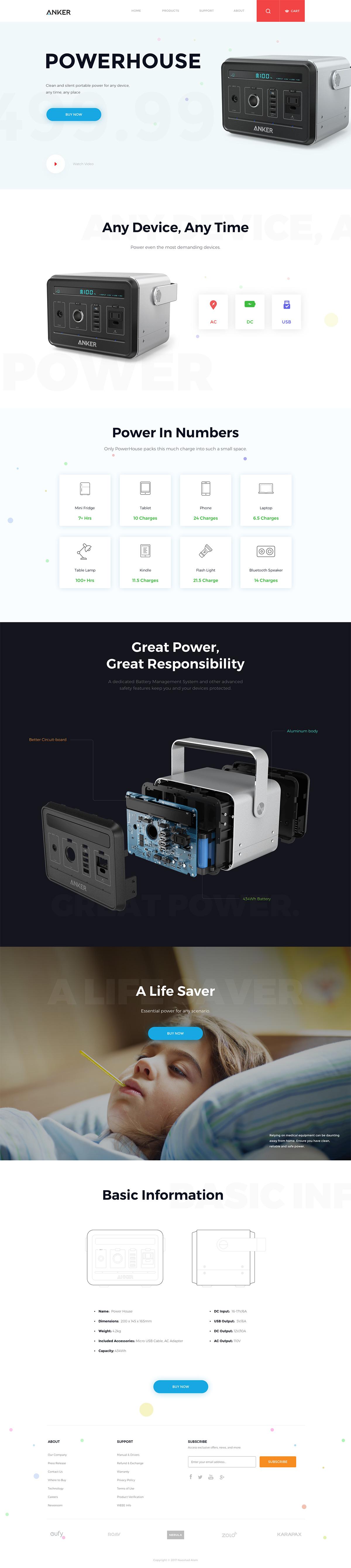 如何为电子产品量身定制一个完美的网页