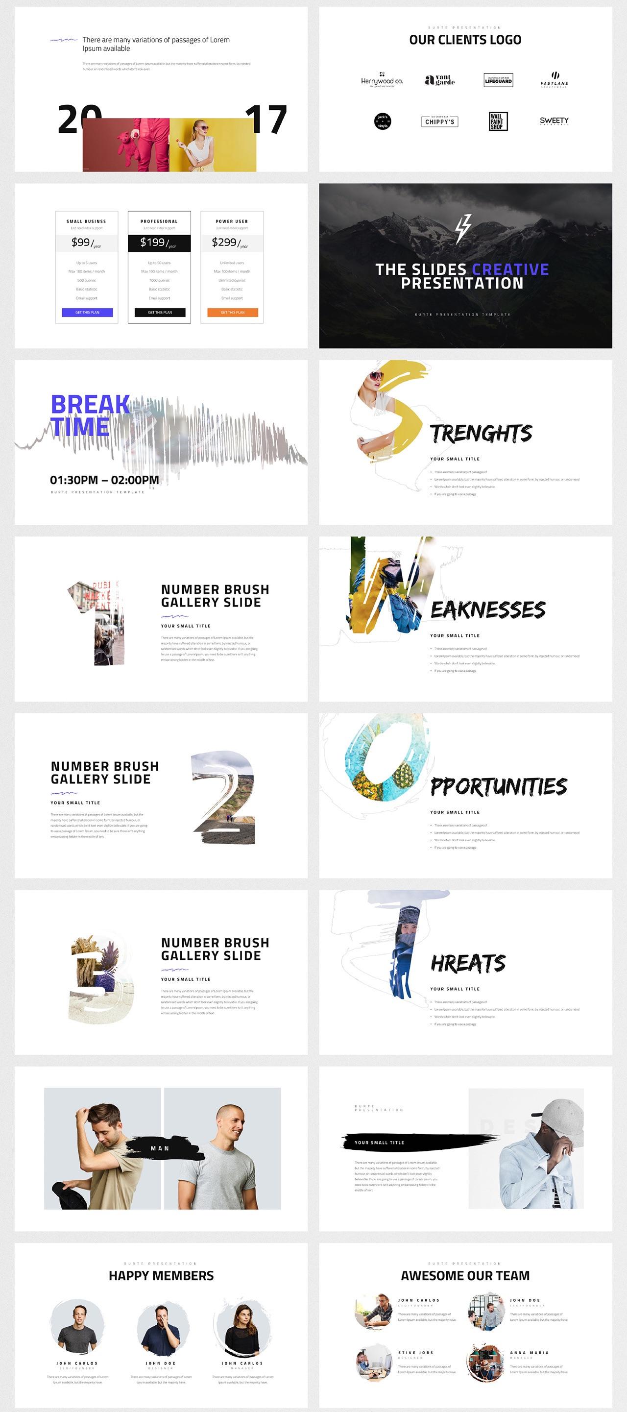 100多种简洁图文排版的表现方式