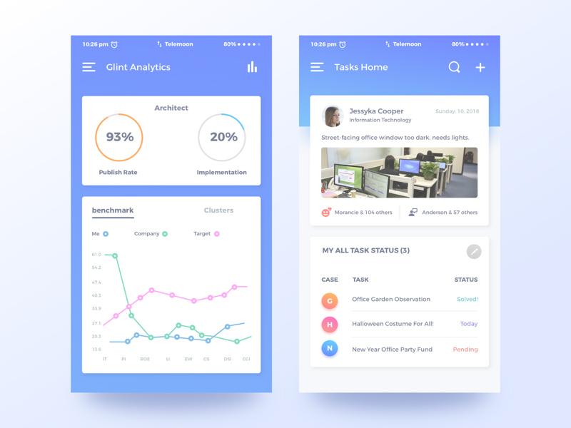 这12张App界面教你如何更优美的展现数据