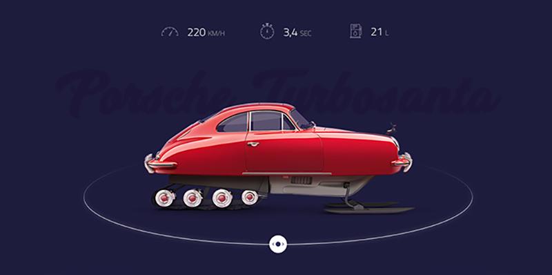 激情与速度!20个汽车类Banner设计