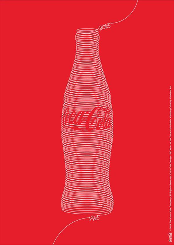 一组可口可乐创意营销海报