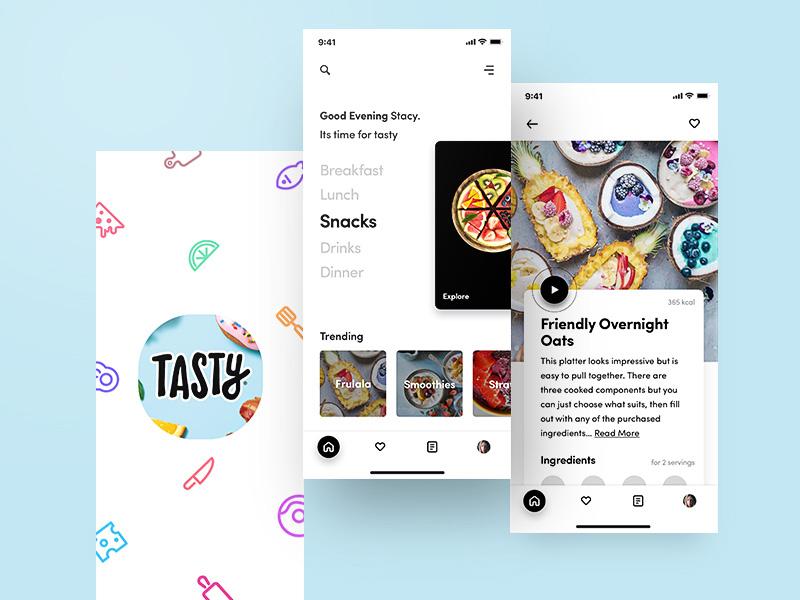 每逢佳节胖三斤!12款美食App设计