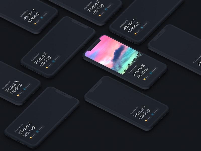 免费下载!超高质量的UI展示模型(含Galaxy S9和iPhone X)
