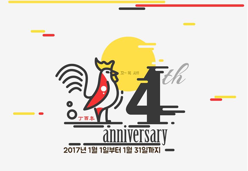 周年庆快乐!20个独一无二的庆典Banner