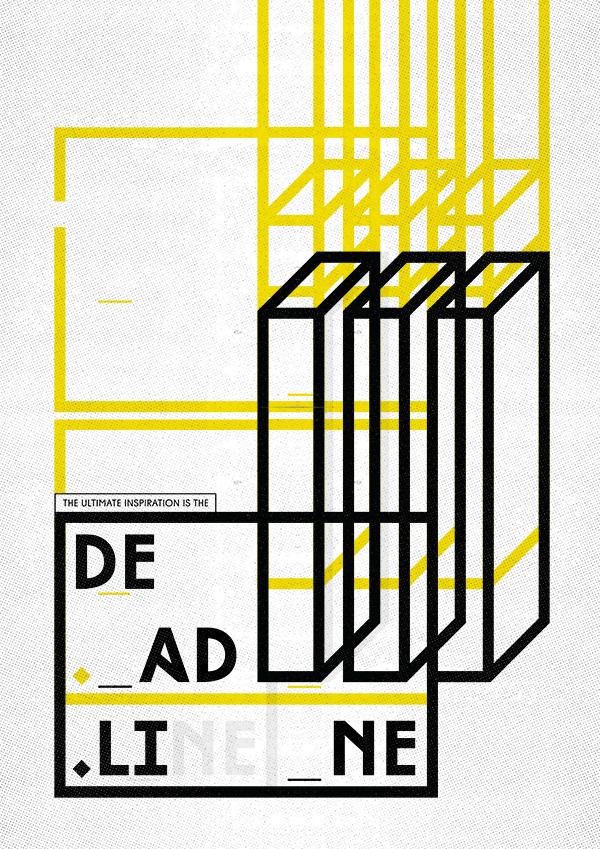 富有视觉感的几何海报应该如何展现?