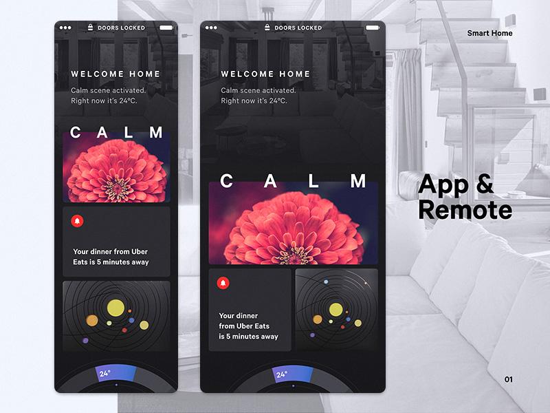 人工智能!12款智能家庭App设计