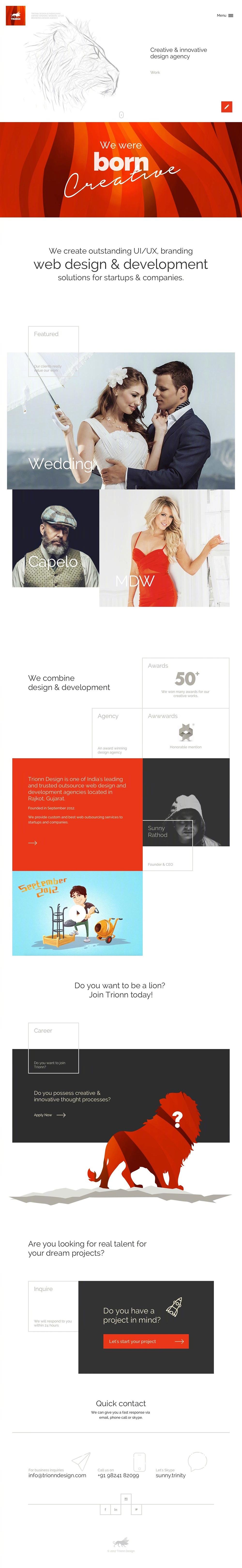 9个排版超赞的工作室网站分享