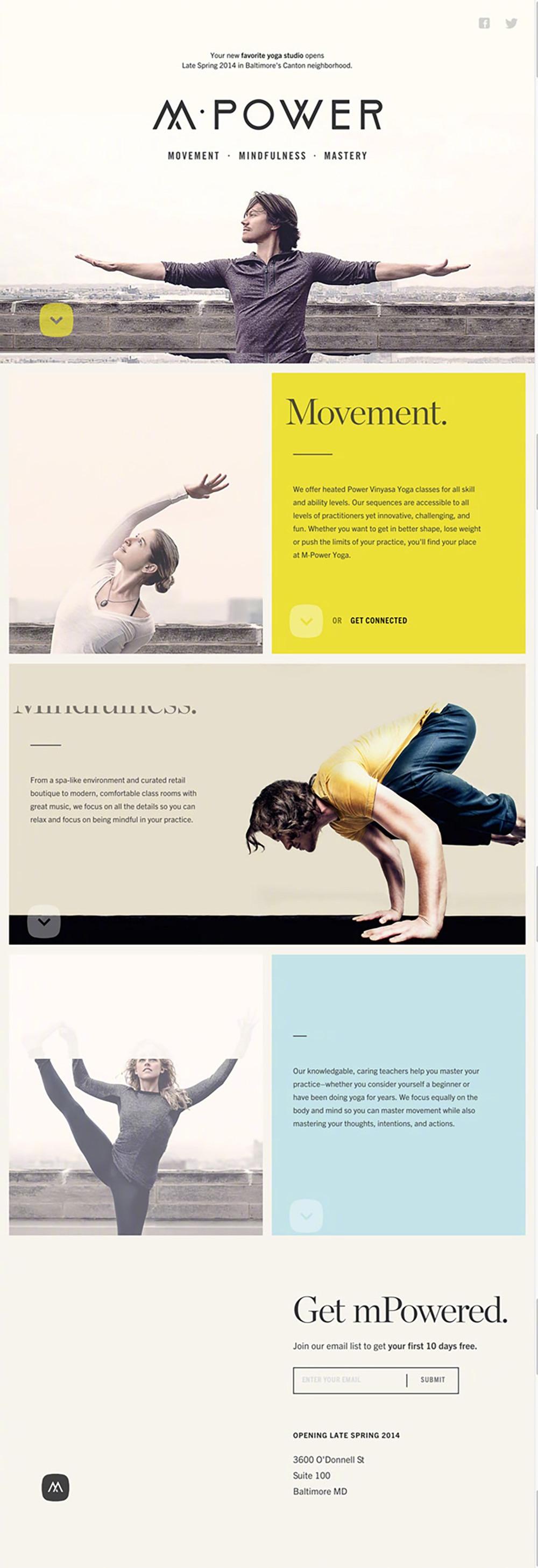 这些瑜伽网页帮助你放松身心