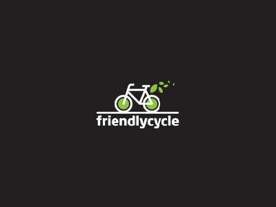 环保出行!20款自行车元素Logo设计