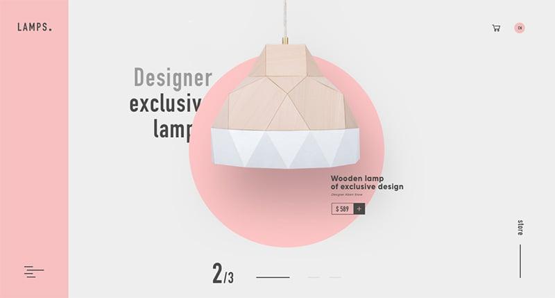照亮你的美!16个灯具类产品Banner设计
