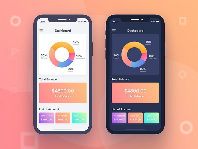 数据图表在App中的12种优雅展示方式