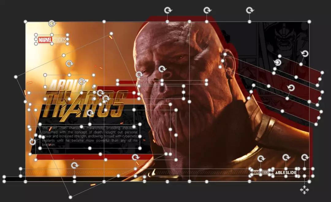 史上最强!复仇者主题PPT模板(含素材、字体等超多素材分享)