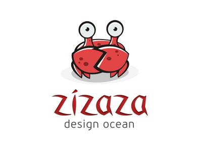 横行霸道!20款螃蟹元素Logo设计