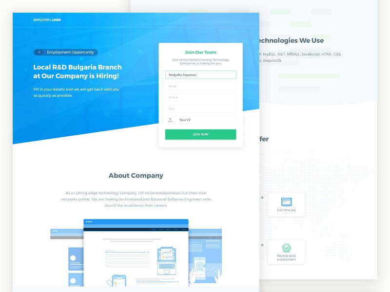 如何为企业设计招聘网站?