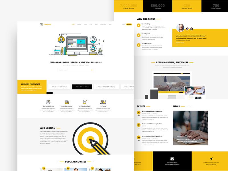在线教育类网站该如何设计?