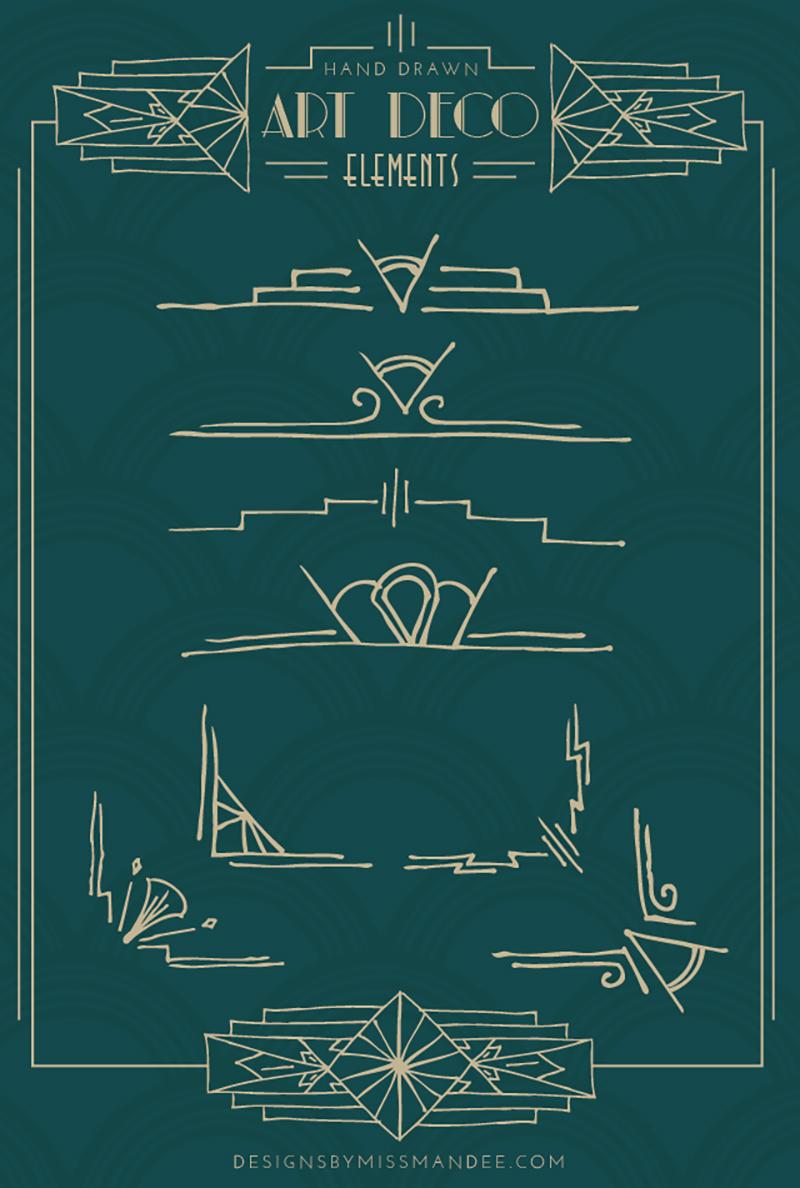 极简插画!15款线性几何海报