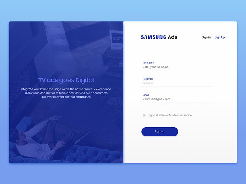 极简风格!12款网站登录注册窗设计