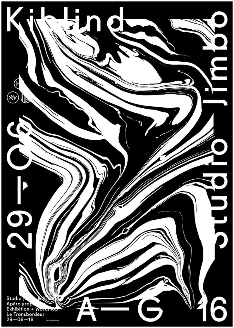 黑白灰风格的海报也可以充满设计感!