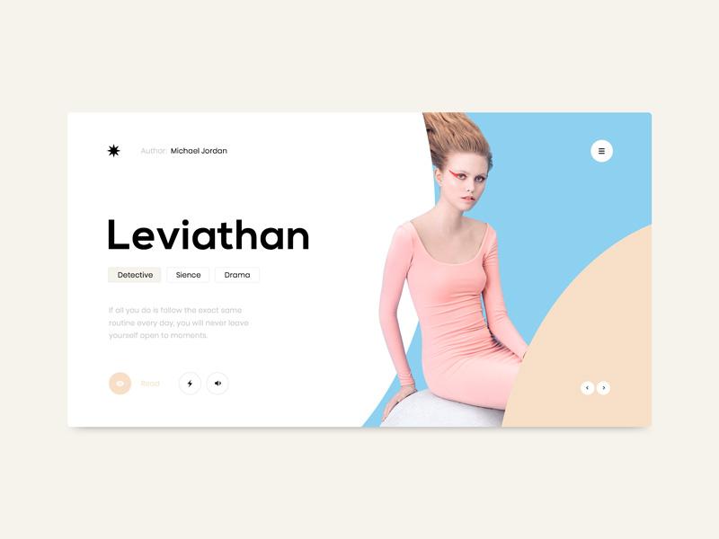 12款简洁精致的个人网站首屏设计