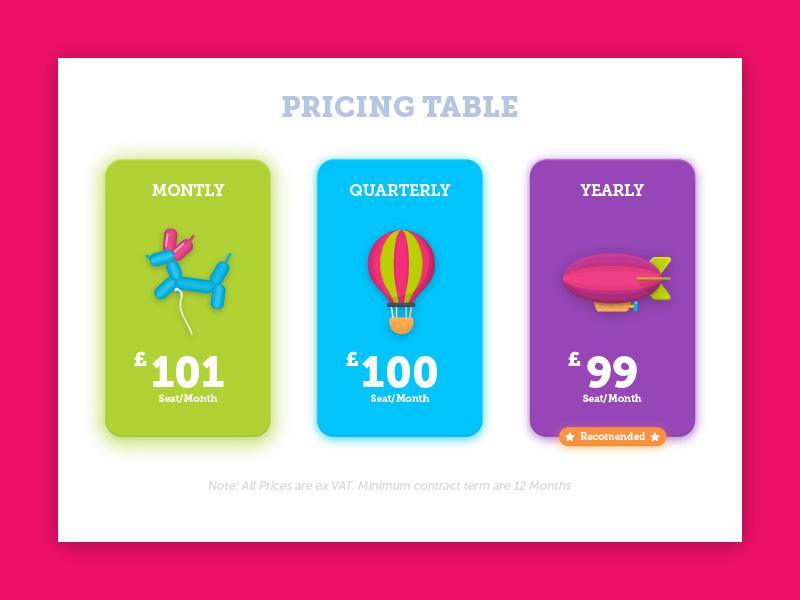 不同套餐选哪种?12组价格标签为你详细展示