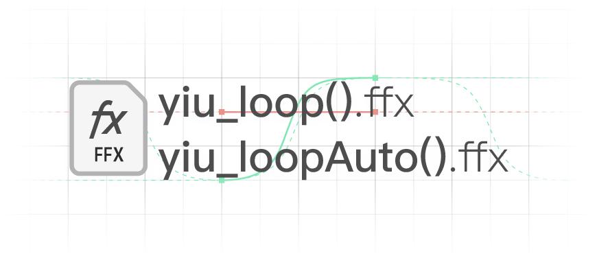 原创预设 yiu_loop().ffx!连路径关键帧都可以循环了