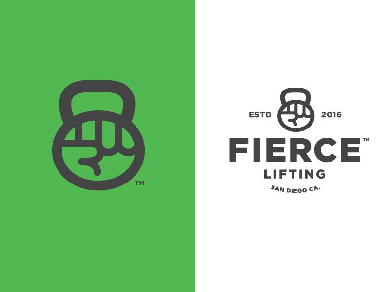 健康运动!24款健身元素Logo设计